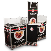 snackpoint De mobiele showcookingstand
