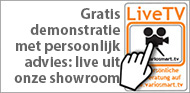 Live TV advies mobiele showcookingstand